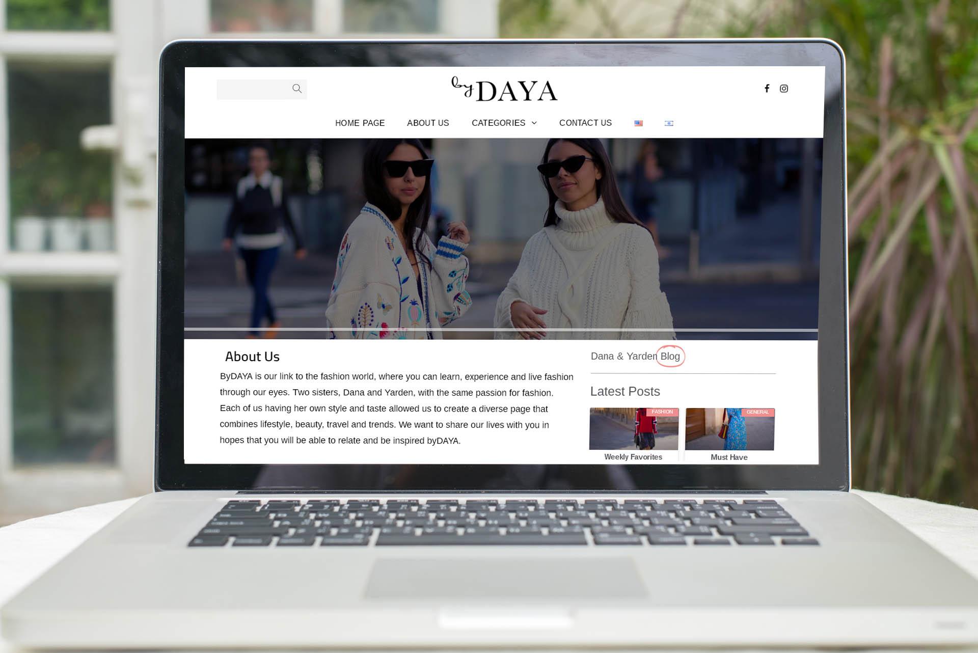 BYDAYA – בלוג אופנה